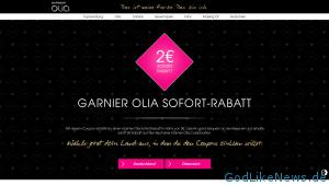 2 Euro Olia Garnier Sofort Rabatt