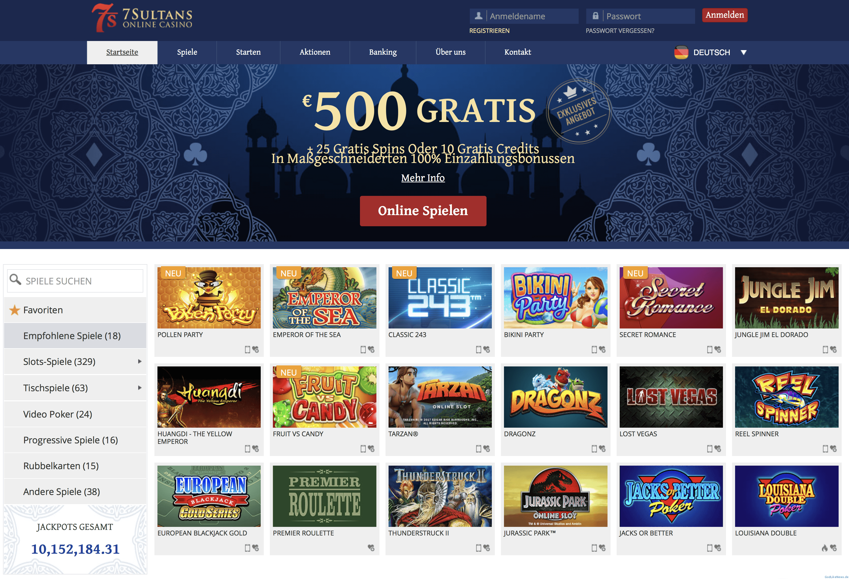 The Basics About 7Sultans Online Casino