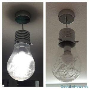 Es werde Licht im Home Gym! Ich selbst verwende die Action Pendelleuchte (LED Lampe) - Die sieht genial im Home Gym aus.