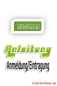 Anleitung - AnmeldungEintragung im ODP DMOZ Webverzeichnis