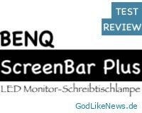 BenQ ScreenBar Plus | LED Monitor-Schreibtischlampe 💡 Unboxing | Aufbau | Test | Review