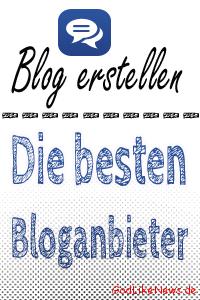 Beste Bloganbieter