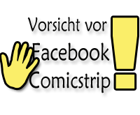 Comicstrip will Facebook Account kapern