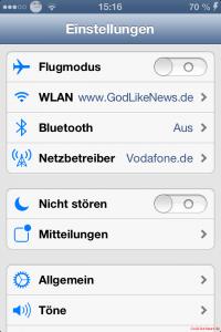 Cydia - iOS 7 Theme Einstellungen-Settings