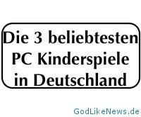Die 3 beliebtesten PC Kinderspiele in Deutschland