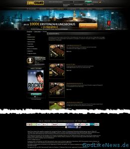 Eurogrand.com Website - Sreeenshot