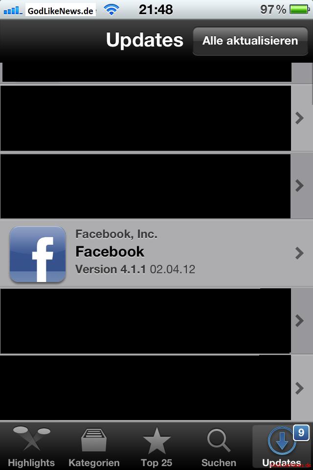single app facebook Herzogenrath