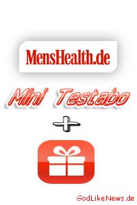 Günstiges Men's Health Testabonnement inkl. ZugabePrämie - Erfahrungstest