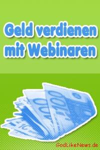 Geld verdienen mit Webinaren Online-Kursen