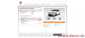 Golf Sportsvan Neuwagen Angebot von Volkswagen