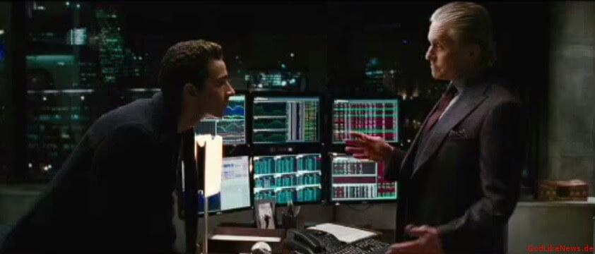 Gordon Gekko in Wall Street
