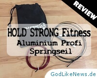 HOLD STRONG Fitness Aluminium Profi Springseil Review