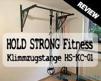 HOLD STRONG Fitness Klimmzugstange HS-KC-01 Review