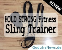 HOLD STRONG Fitness Sling Trainer Review