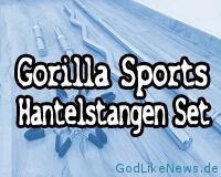 Hantelstangen Set von Gorilla Sports Review