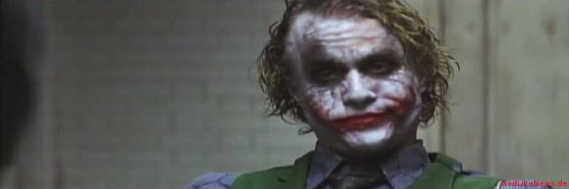 Joker in Batman und The Dark Knight