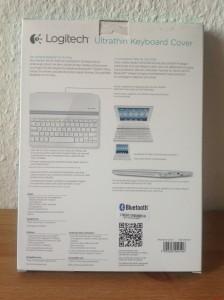 Logitech Ultrathin iPad Tastatur - Verpackung Back