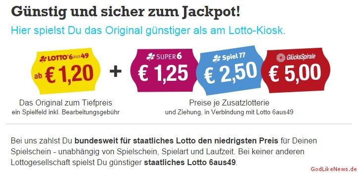 was kostet lotto 6 aus 49