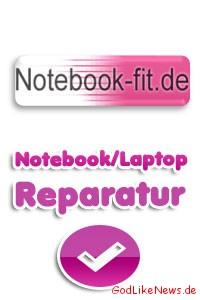 Notebook-fit - Bundesweite Notebook Laptop Reparatur zu günstigen Preisen