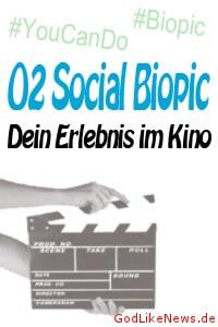 O2 Social Biopic - Dein Erlebnis im Kino