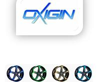 OXIGIN - Farbige Alufelgen