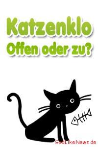 Offenes oder geschlossenes KatzenkloToilette - Was ist besser Erfahrungstest