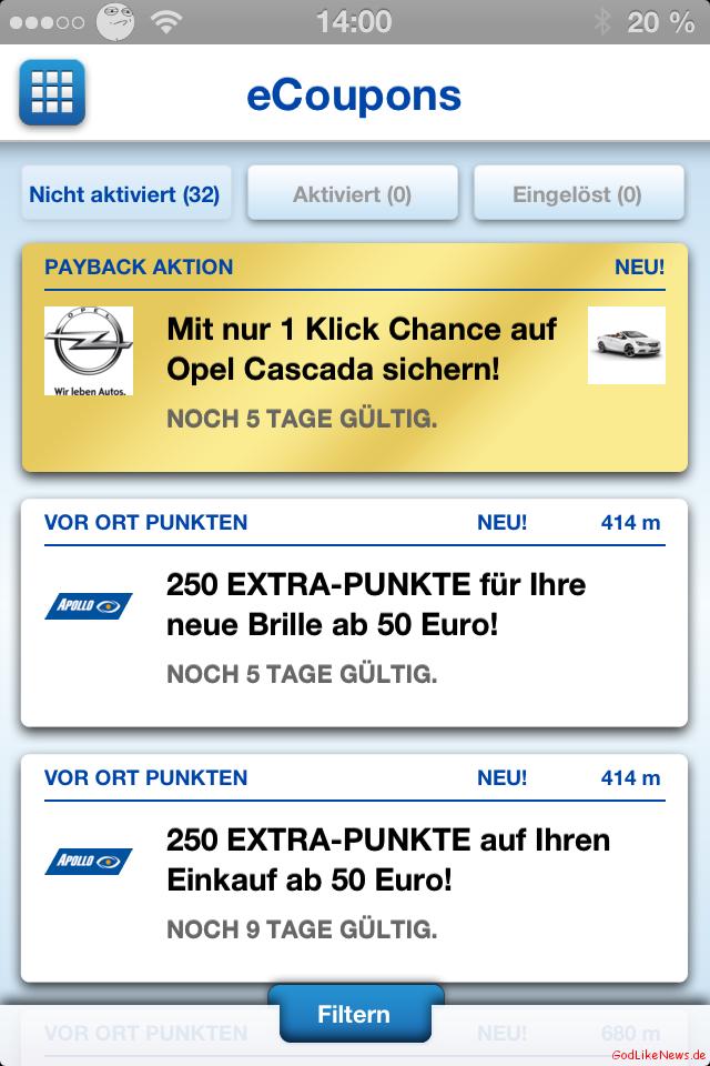 Payback E Coupons : mobil punkten mit der payback app ~ Watch28wear.com Haus und Dekorationen