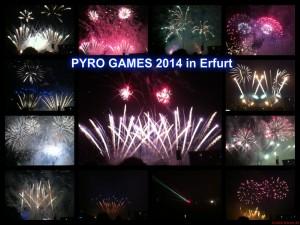 PYRO GAMES 2014 in Erfurt - Einblicke