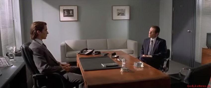 Patrick Bateman in American Psycho