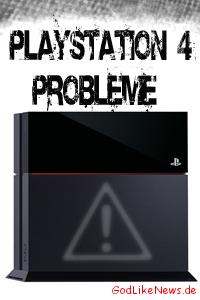 PlayStation 4 Häufige PS4 Probleme und Lösungen