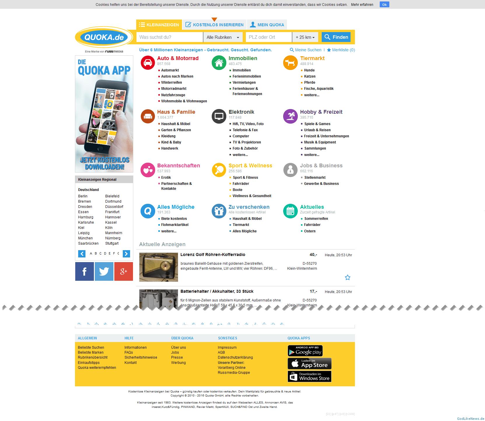 quoka kleinanzeigen münchen kleinanzeigen online kostenlos
