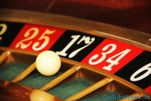 Roulette spielen - Alles auf die schwarze 17
