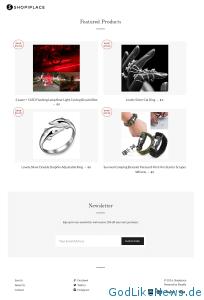 Shopiplace.com Website Screenshot