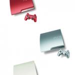 Sony kündigt drei neue limitierte PlayStation 3 Farben für Europa an