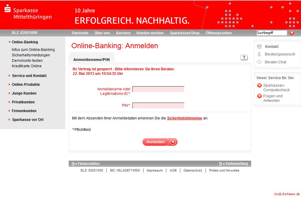 Commerzbank Online Banking Gesperrt