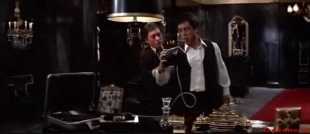 Tony Montana in Scarface