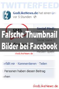 Twitterfeed Falsche Thumbnail Bilder bei Facebook (Lösung)