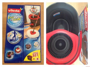 Unboxing - ausgepackt - Vileda EasyWring & Clean Wischsystem 2