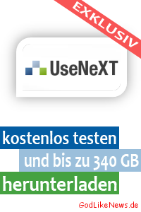 Usenet UseNeXT kostenlos testen und bis zu 340 GB herunterladen