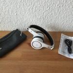 V7 Bluetooth Kopfhoerer Headset mit NFC Lieferumfang