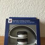 V7 Bluetooth Kopfhoerer Headset mit NFC Verpackung vorn