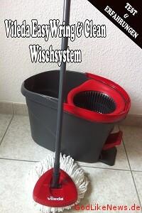 Vileda EasyWring & Clean Wischsystem - Test & Erfahrungen