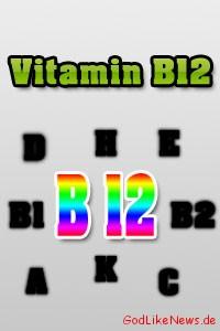 Vitamin B12 Cobalamin - Infos zu Mangel Symptome & Lebensmittel-Vorkommen