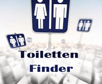 WC Toiletten unterwegs schnell mit Smartphone Handy App finden