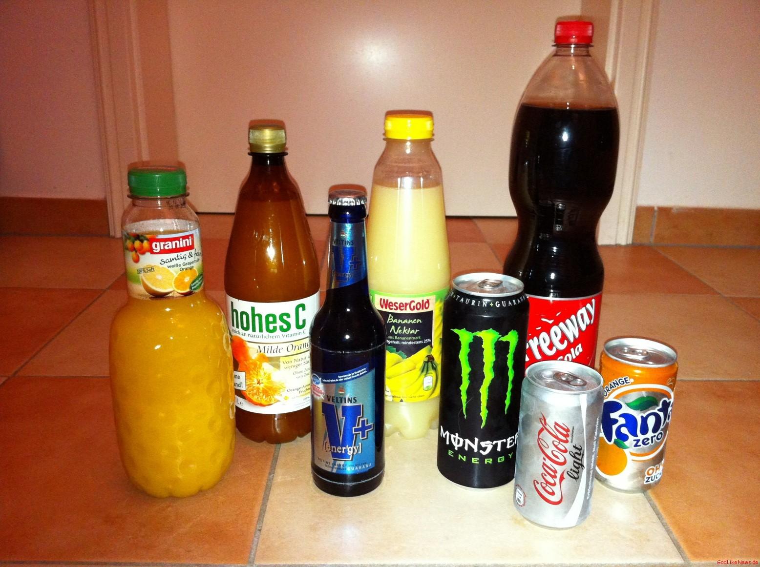 Warum Säfte, Alkohol, Light und Zero Getränke dick machen ...