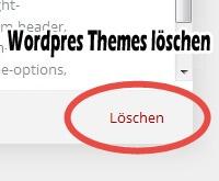 Wordpress Themes loeschen - Artikelbild