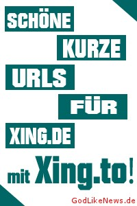 Xing URL personalisieren mit Xing.to