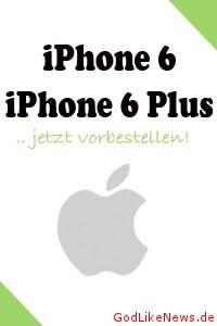 iPhone 6 mit Vertrag vorbestellen