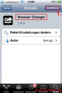 Iphone Standardbrowser ändern