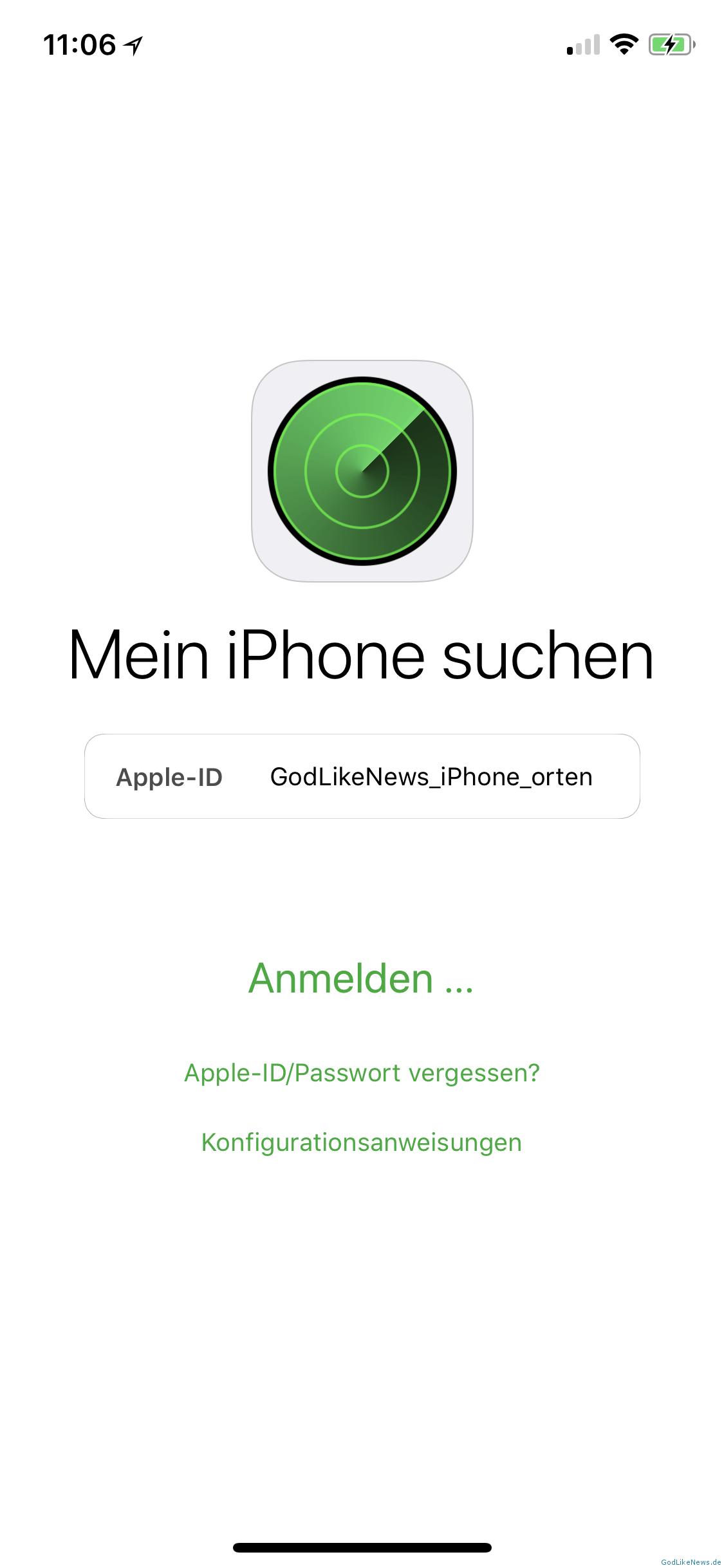 Mein Handy Orten Iphone